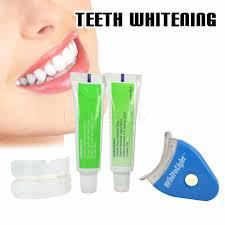 led light for teeth qic teeth whitening set gel oral hygiene toothpaste kit white led