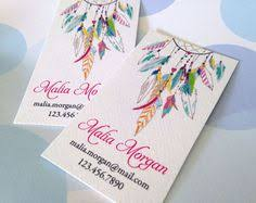 Personalized Business Cards Custom Boutique Hairbow Headband Business Card Calling Card
