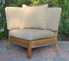 Teak Sectional Patio Furniture by Teak Patio Lounge Chairs Foter