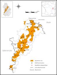 Wine Map Of France by Jura Wine Wikipedia