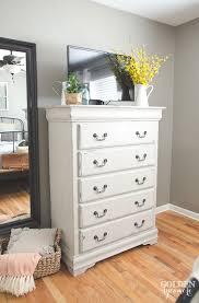 Bedroom Dresser Furniture Painted Bedroom Dresser The Golden Sycamore