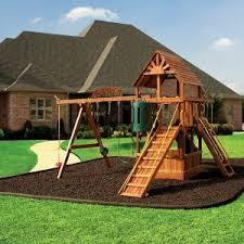 Metal Backyard Playsets Outdoor Ready For Action With Swingset For Pleasure Kids