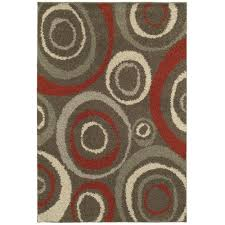 Dylan Rug Home Decorators Collection Orbit Mushroom 5 Ft 3 In X 7 Ft 6 In
