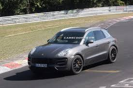 porsche prototype 2015 spied new porsche macan turbochargers its way around the u0027ring