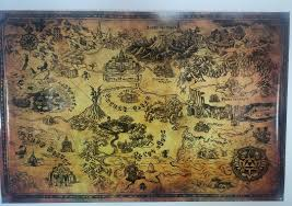 Map Of Hyrule Zeldanintendo Instagram Zeldanintendo Images Photos People And