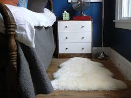 Lamb Skin Rugs How To Clean A Sheepskin Rug Little House Design