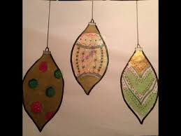 how to draw christmas ornaments hanging cartoon fast and easy