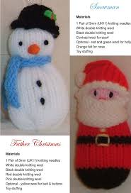 free christmas knitting patterns christmas decorations to make