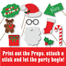 christmas photo booth props christmas photo booth props svg cut file dxf png jpeg
