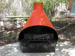 Red Clay Chiminea Chiminea Outdoor Fireplace Outdoor Clay Chiminea Fireplace