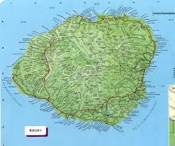 Map Of Hawaii And United States by Kauai Kauai Map See Map Details From Botany Hawaii Edu Places