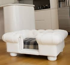 Leather Sofa And Dogs Balmoral White Faux Leather Sofa Bed