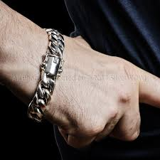 chain link bracelet sterling silver images 15mm silver cuban link bracelet jpg