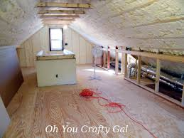 Craft Sewing Room - oh you crafty gal attic renovation dream craft and sewing room