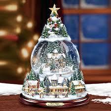 light up snow globe christmas tree snow globes amodiosflowershop com