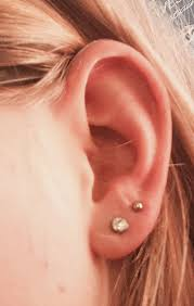 second earrings the 25 best second piercing ideas on second