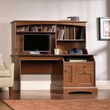 Computer Desk With Hutch Sauder Computer Desk With Hutch Faux Granite Top Shop Your Way