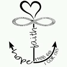 Quot Love Anchors The Soul - hope anchors the soul so going to do this with my mom an sister