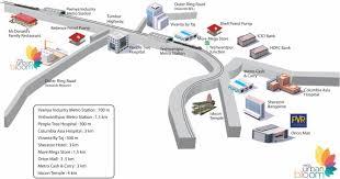 Bangalore Metro Map Phase 3 by Arge Urban Bloom In Yeshwantpur Bangalore Price Location Map