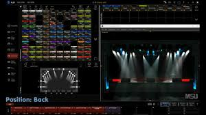 showreel martin m pc light mixingdesk live software program for