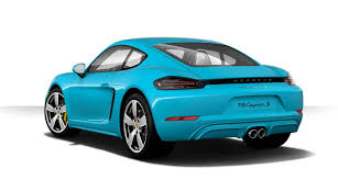 miami blue porsche 718 how to turn your road going porsche into a snarling turbocharged