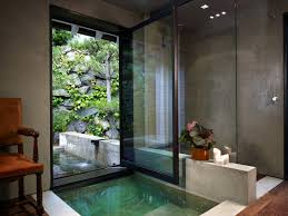 Green Tile Bathroom Ideas by Green Tile Decor Be Arround Glass Windows Japanese Bathroom Toilet