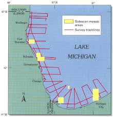 map of michigan lakes coastal erosion of southern lake michigan usgs fact sheet