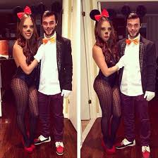 Cute Minnie Mouse Halloween Costume Couple Costumes Cute Couples Costumes Minnie Mouse