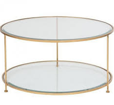 coffee table coffee table astounding round gold drum glass tables