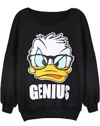 sudadera donald duck manga larga negro us 26 06 ropa pinterest