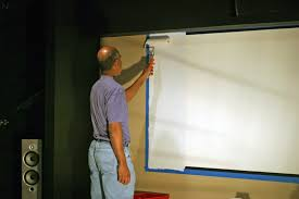 french guy blog diy projector screen goo paint vs behr silver
