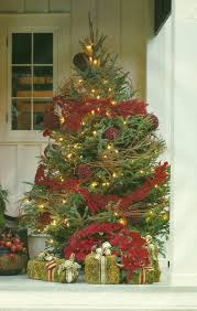 Christmas Decorations For Front Porch Pinterest by Decorating Front Porch For Christmas Pinterest Home Design Ideas
