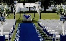 Wedding Runners Blue Wedding Aisle Runners Ebay