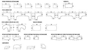 dimension bureau dimensions bureaux tono jpg 1094 611 guides recettes astuces