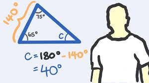 The Interior Angles Of A Triangle Always Add Up To Angles In Triangles Youtube