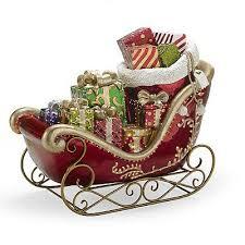 santa s fiber optic sleigh frontgate outdoor