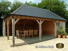 radnor oak oak framed gazebos oak pavilion outdoor living