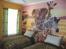 safari themed bedroom bedroom jungle hd wallpaper wall border ideas picture for
