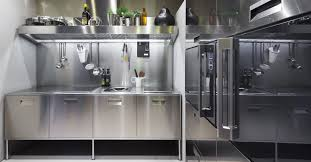 contemporary kitchen stainless steel artusi gourmet by antonio