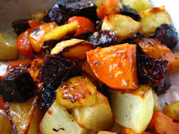 home cooking in montana roasted root vegetables with orange maple