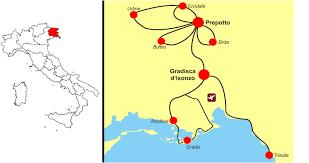 Trieste Italy Map by Bike Udine Tour Prepotto U0026 Gradisca Funactive Tours
