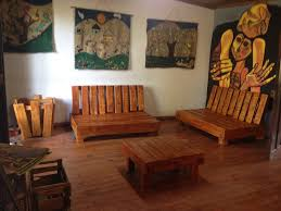 Wooden Sofa Set Designs For Living Room Furniture Accessories Wheeled Pallet Wood Sofa Wheeled Pallet
