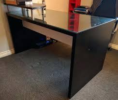 black glass top desk u2013 amstudio52 com