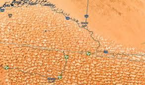 Rub Al Khali Map Desert Scene Beautiful Serene Nota Bene Eugene Kaspersky U0027s