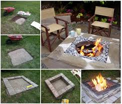 Fire Pit Backyard 30 Diy Fire Pit Ideas And Tutorials For Your Backyard