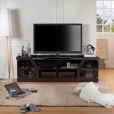 Tv Furniture Design Catalogue Furniture Of America Espresso Rayott Modern Tv Stand