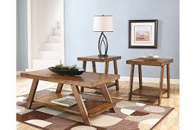 Ashley Furniture Living Room Tables Bradley Table Set Of 3 Ashley Furniture Homestore