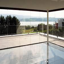 balkon wetterschutz wind und wetterschutz schweizer metallbau