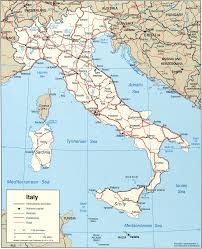 Regional Map Of Italy by Map Of Italy Italy Travel Map Italy Political Map