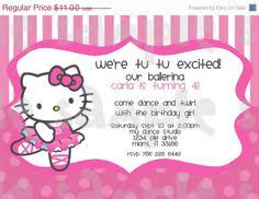 kitty free printable party invitation print